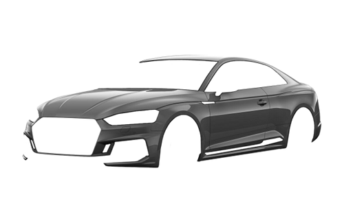 Цвета кузова RS5 Coupe